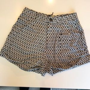 Black Swan Pattern Shorts